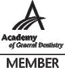 academy of general dentistry member logo